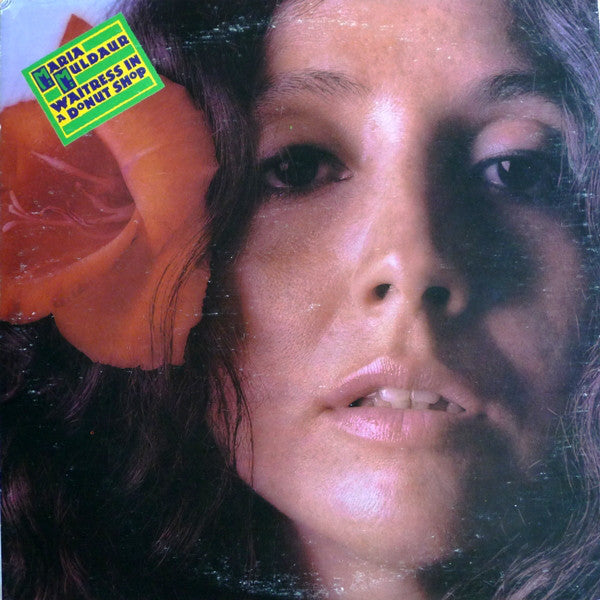 Maria Muldaur ‎– Waitress In A Donut Shop - VG+ Lp Record 1974 USA Original Vinyl - Rock