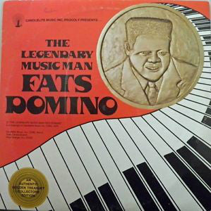 Fats Domino ‎– The Legendary Music Man - VG+ 1976 Stereo 2 Lp Set USA - Rock
