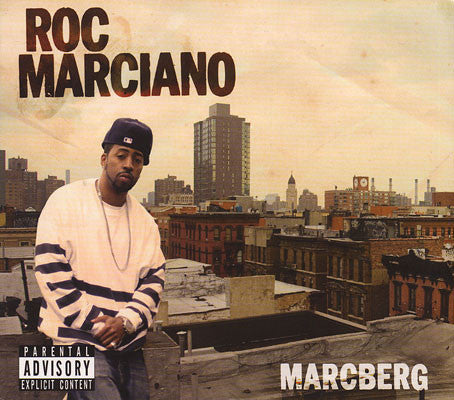 Roc Marciano - Marcberg - New Vinyl Record 2010 Fatbeats USA 2-LP w/ Bonus Tracks - Rap / HipHop, feat. Sean Price