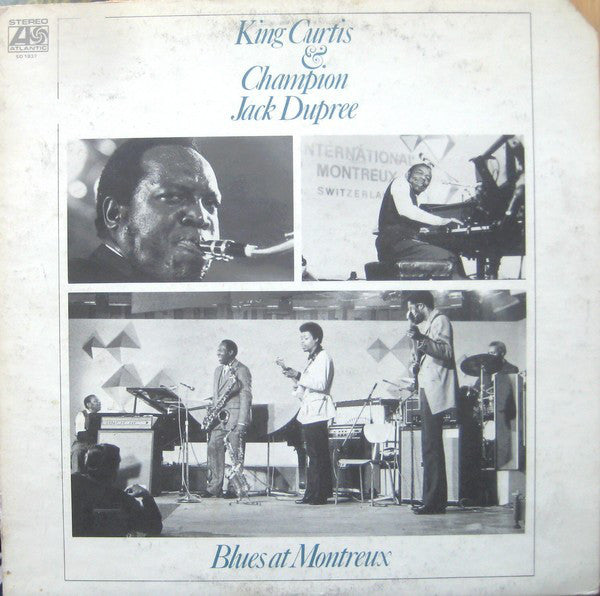 King Curtis & Champion Jack Dupree – Blues At Montreux - VG+ USA 1973 -  Electric Blues - B18-089