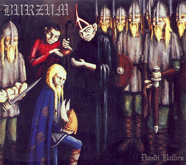 Burzum ‎– Dauði Baldrs (1997) - New Vinyl Record 2005 UK Import (Back On Black Black) With Insert - Black Metal/Electronic