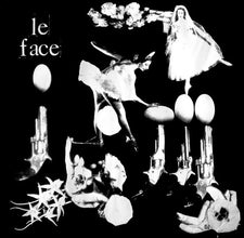 Le Face - S/T EP - New Vinyl - 2009 Tic Tac Totally! (Chicago Label) GREEN Vinyl - Punk