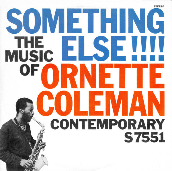 Ornette Coleman - Something Else!!!! (1958) - New Vinyl 2015 DOL 180gram Reissue EU Import Pressing - Jazz / Free Jazz