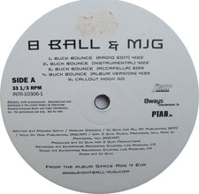 "8 Ball & MJG Feat. DJ Quik – Buck Bounce - VG+ 12"" Single USA 2001 (Promo) - Hip Hop - Shuga Records Chicago"