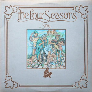 The Four Seasons - Story - VG+ 2 Lp Record 1975 USA Stereo - Pop Rock
