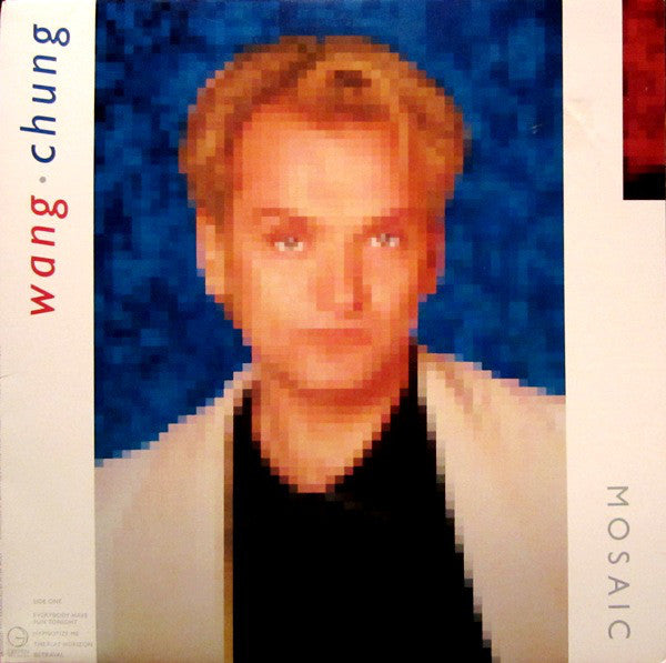 Wang Chung ‎– Mosaic - Mint- 1986 Stereo Original Press USA - Synth Pop