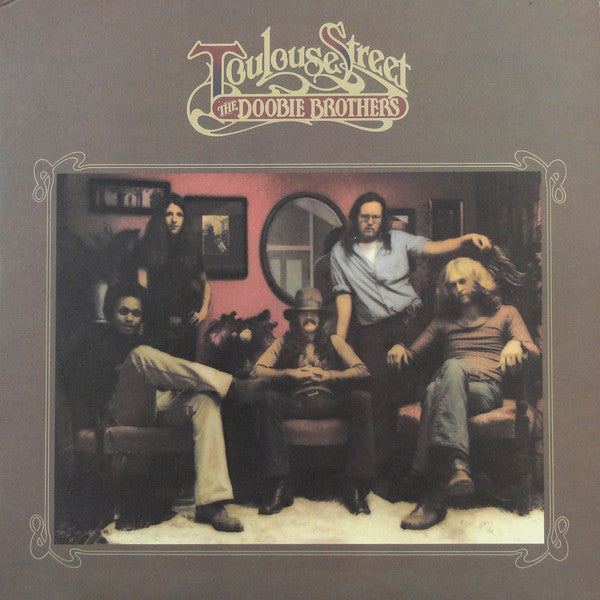 The Doobie Brothers ‎– Toulouse Street - VG Lp Record 1972 Warner USA Vinyl - Classic Rock