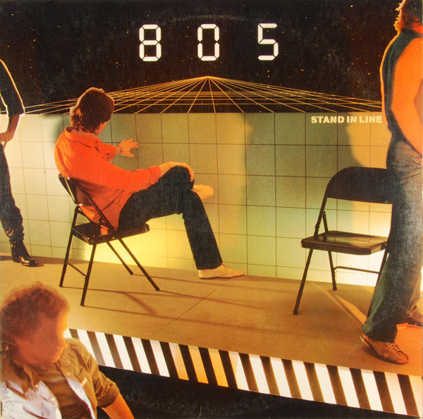 805 – Stand In Line - Mint- 1982 Stereo USA - Prog Rock