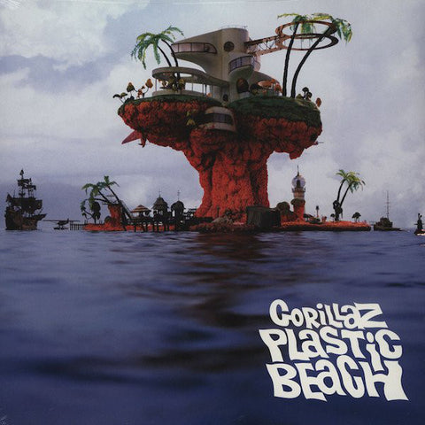 Gorillaz ‎– Plastic Beach - New 2 Lp Record 2010 Parlophone Europe Import 180 gram Vinyl - Synth-pop / Hip Hop / Trip Hop