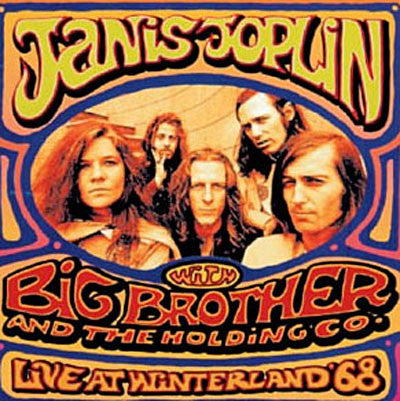Janis Joplin / Big Brother & The Holding Company - Live at Winterland '68 - New Vinyl Record 2015 Record Store Day Black Friday Limited Edition, Foil Stamped Gatefold 2-LP 180gram - First time on vinyl! Full-size 20+ page booklet! 4,000 Copies Worldwide