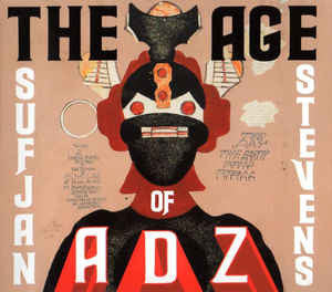 Sufjan Stevens - The Age of Adz - New 2 Lp Record 2010 USA Vinyl & Download - Indie Rock / Folk Rock