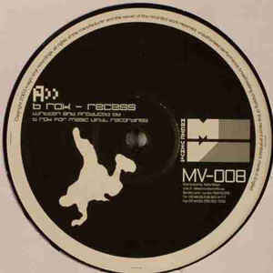 "B Rok / Imagination D – Recess / Fast And Furious 12"" Dance 2004 German Import - Drum n Bass"