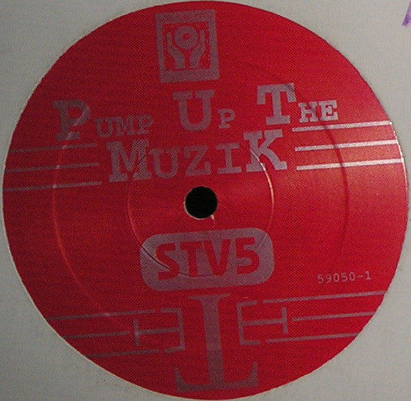 "2 Direct – Pump Up The Muzik - VG+ 12"" Single (Promo) USA - House - Shuga Records Chicago"