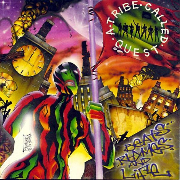 A Tribe Called Quest - Beats Rhymes and Life - New VInyl 1996 Jive Records 2-LP Reissue - Rap / HipHop - Shuga Records Chicago