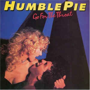 Humble Pie - Go For the Throat - VG+ Lp Record 1981 USA Original Vinyl - Rock