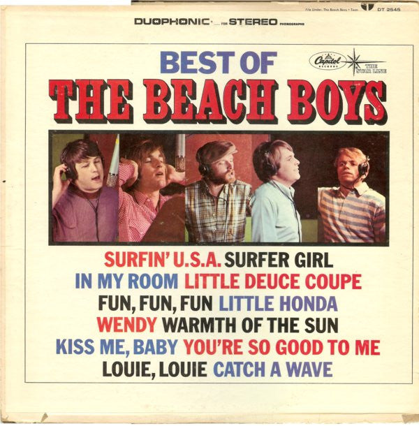 The Beach Boys ‎– Best Of The Beach Boys Vol. 1 (1966) - VG+ Lp Record 1973 Capitol USA Mono  Vinyl - Surf Rock / Pop Rock