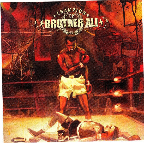 Brother Ali ‎– Champion EP - New Vinyl 2005 - Minneapolis Hip Hop - Rhymesayers