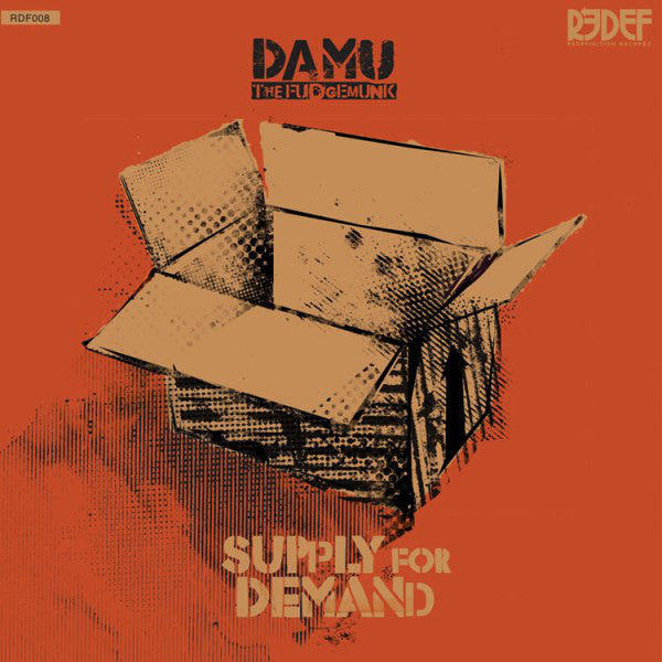 Damu The Fudgemunk ‎– Supply For Demand - New Vinyl Record 2010 -