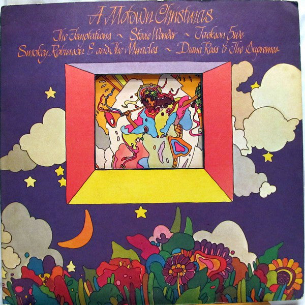 Various ‎– A Motown Christmas - VG+ 1973 Stereo 2 Lp Set USA Original Press Record - Holiday / Christmas