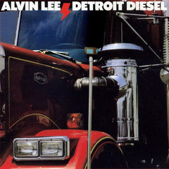 Alvin Lee – Detroit Diesel - VG+ 1986 USA - Rock/Blues Rock
