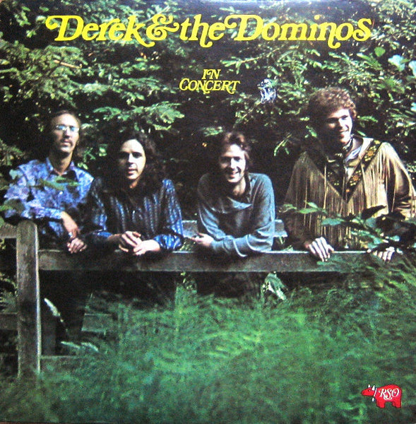 Derek & The Dominos - In Concert - VG+ 1973 Stereo 2 Lp USA Rock - B20-054