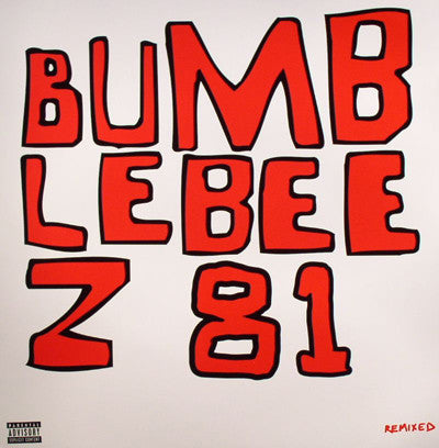 "Bumblebeez – Remixed - VG+ 12"" USA 2004 -(5 Tracks Remixed By TV On The Radio/M83/Bambino Big Dick/Photek/Karuna)(Includesfive 12"" by 12"" posters)"