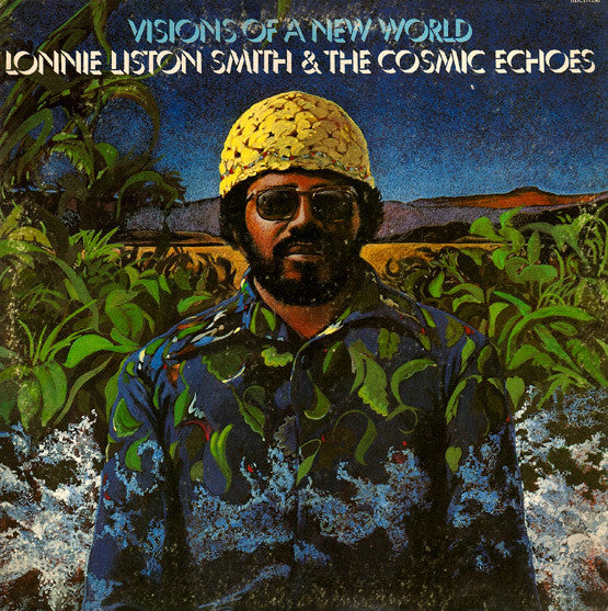 Lonnie Liston Smith & the Cosmic Echoes - Visions of a New World VG Lp Record 1975 USA Flying Dutchman Vinyl - Jazz-Funk / Fusion