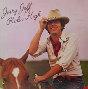 Jerry Jeff Walker - Ridin' High - VG+ 1975 Stereo USA - Country