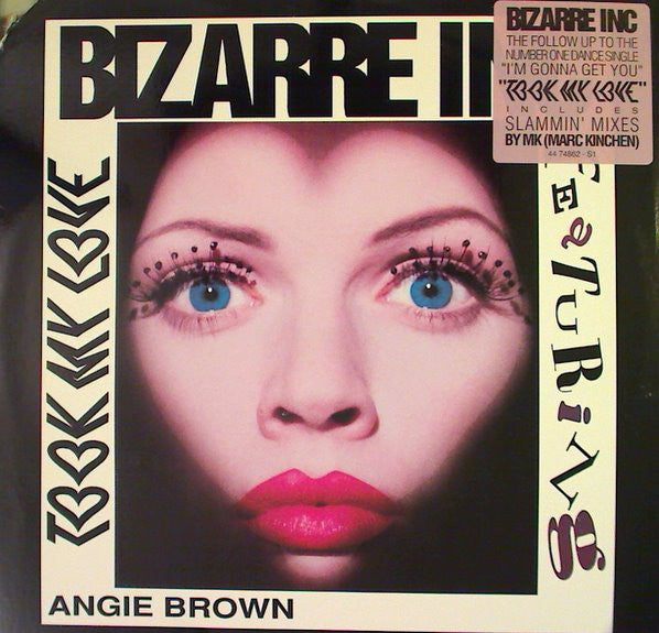 "Bizarre Inc Featuring Angie Brown – Took My Love - VG+ 12"" USA 1993 - House"