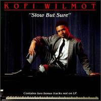 Kofi Wilmot ‎– Slow But Sure - VG+ Lp Record 1988 USA Original Vinyl - Jazz