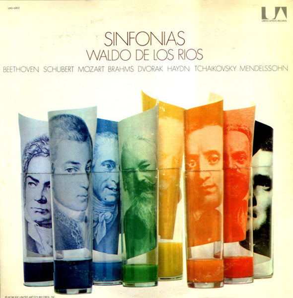 Waldo de Los Rios - Sinfonias - VG+ Stereo United Artists USA