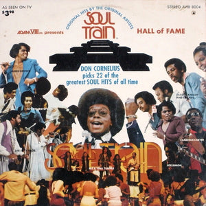 Various ‎– Soul Train Hall Of Fame - VG Lp Record 1973 Stereo USA - Soul / Funk