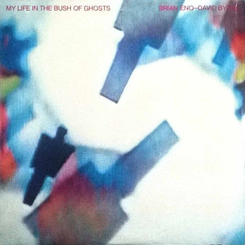 Brian Eno - David Byrne ‎– My Life In The Bush Of Ghosts - VG+ Lp Record 1981 Sire USA Original Vinyl - Electronic / Avantgarde / Experimental