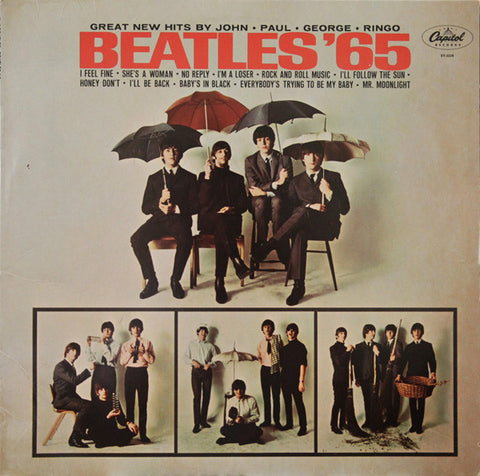 The Beatles ‎– Beatles '65 (1964) - VG+ Lp Record 1978 Capitol USA Stereo Vinyl - Rock & Roll / Pop Rock