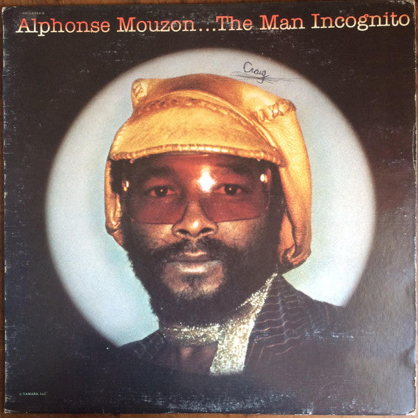 Alphonse Mouzon – The Man Incognito - Mint- 1976 Stereo USA - Jazz