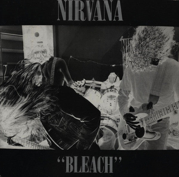 Nirvana - Bleach (1989) - New Vinyl 2011 Press USA With Mp3 Download- Rock