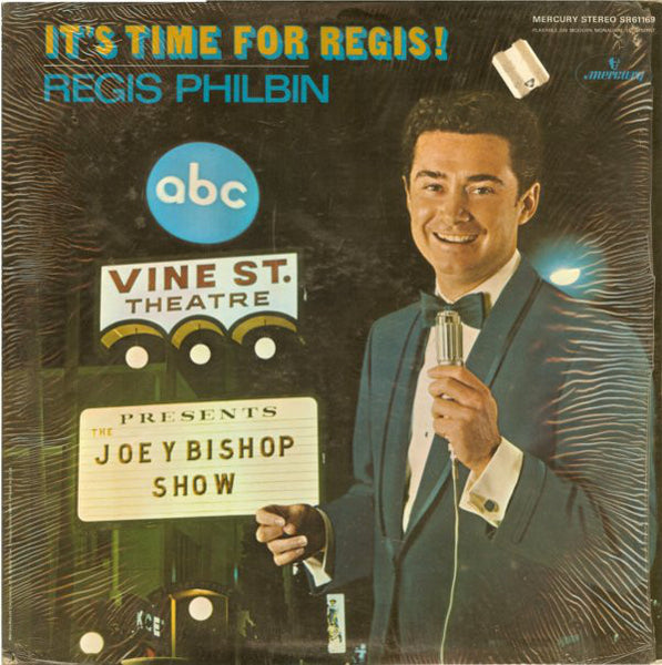 Regis Philbin - It's Time For Regis! - VG+ 1968 Stereo USA - Pop/Vocal