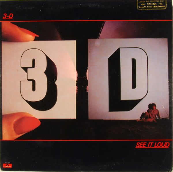 3-D – See It Loud - Mint- 1980 USA Promo - New Wave/Power Pop