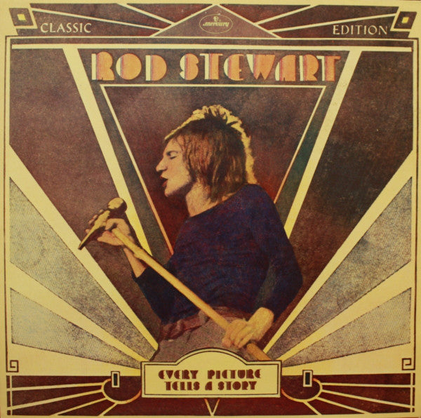 Rod Stewart ‎– Every Picture Tells A Story (1971) - VG+ Stereo 1979 Press USA - Rock / Pop