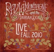 Ray LaMontagne & The Pariah Dogs - Live Fall 2010 - New Vinyl Record 2011 RCA USA - Neo Folk / Blues / Soul