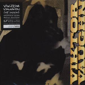 Viktor Vaughn ‎– Vaudeville Villain (Gold Edition) - New Vinyl Record 3 Lp (1500 Made) Screened Cover Ltd Ed 2011 (Numbered 938/1500)