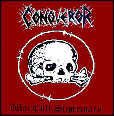 Conqueror ‎– War.Cult.Supremacy - New Vinyl 2017 Nuclear War Now Gatefold 2-LP with Insert and Poster - Black / Death Metal