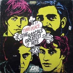 The Rascals ‎– Time Peace The Rascals' Greatest Hits - VG LP Record 1968 Atlantic USA Vinyl - Pop Rock