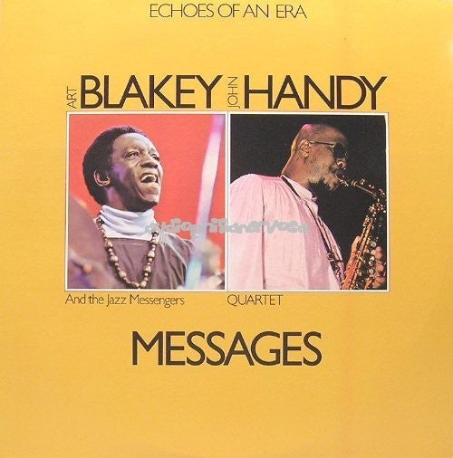 Art Blakey And The Jazz Messengers / John Handy Quartet ‎– Messages VG+ - 1976 Roulette 2 Lp Stereo USA - Jazz
