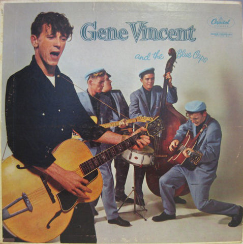Gene Vincent - and the Blue Caps - New Vinyl Record 2016 DOL EU 180gram Pressing - Rockabilly / Rock & Roll