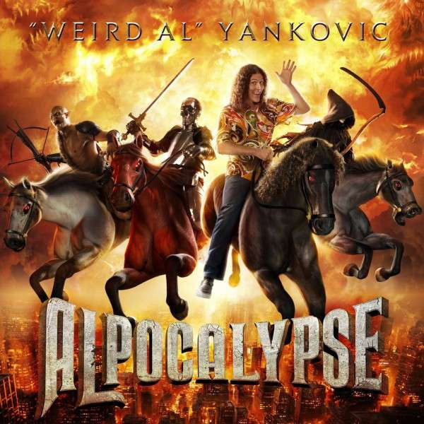 """Weird Al"" Yankovic - Alpocalypse - 2011 Volcano - Comedy / Parody - Shuga Records Chicago"