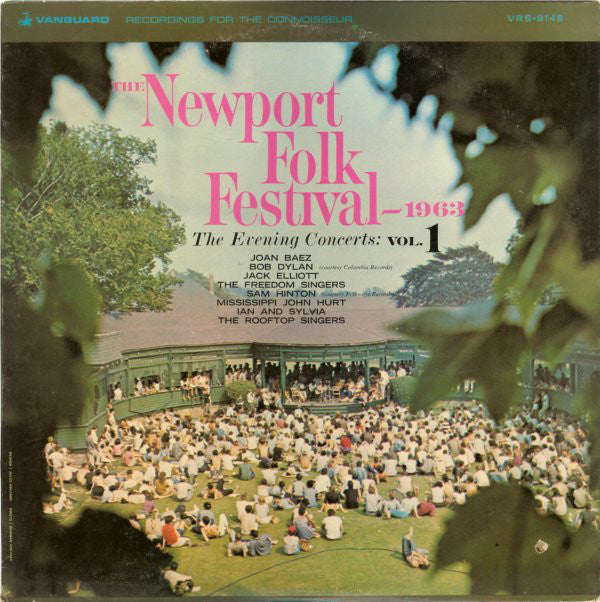 Various – The Newport Folk Festival 1963 - The Evening Concerts: Vol. 2 - VG+ 1963 Mono USA - Folk