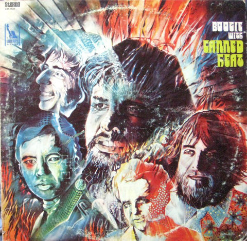 Canned Heat ‎– Boogie With Canned Heat - New Vinyl Record (1968) - 1995 Reissue -