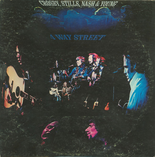Crosby, Stills, Nash & Neil Young ‎– 4 Way Street - VG+ 2 LP Stereo 1971 Original Press USA - Rock - B18-041