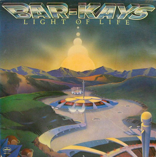 Bar-Kays ‎- Light Of Life - VG 1978 Mercury Stereo USA - Soul/Funk